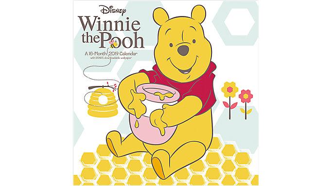 Mead Disney Winnie the Pooh Wall Calendar  (HTH542)