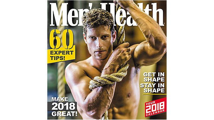 Mead Mens Health Wall Calendar  (HTH550)