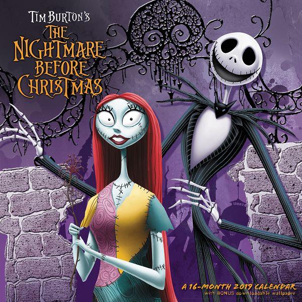 Day Dream Disney The Nightmare Before Christmas Wall Calendar - Disney