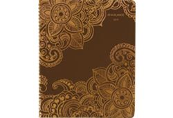 AT-A-GLANCE Henna Intricate Design Planner