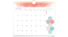 Mini Monthly Tabbed Wall Calendar (Item # IP621-709)