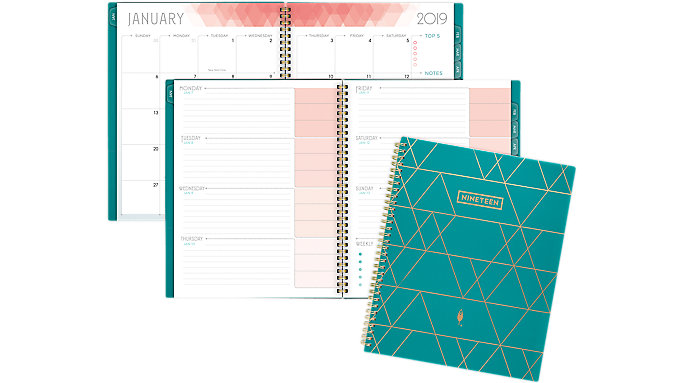inkWELL Press liveWELL Weekly-Monthly Planner  (IP621-905)