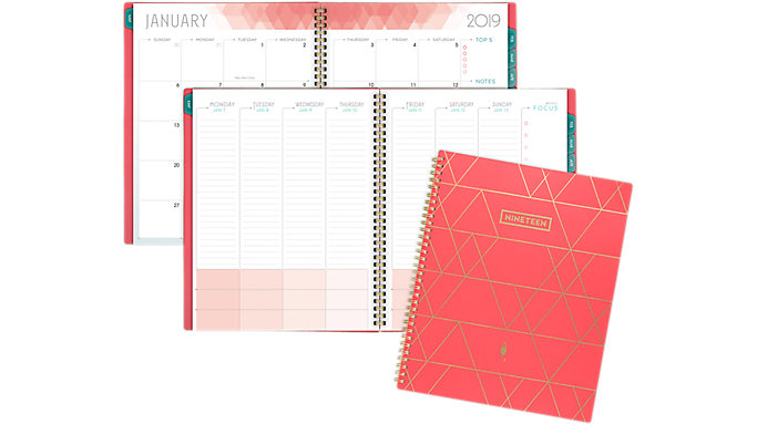 inkWELL Press Classic liveWELL Weekly-Monthly Planner  (IP622-905)