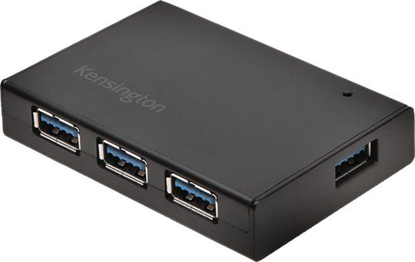 Kensington UH4000 USB 3.0 4-Port Hub Plus - Electronics photo