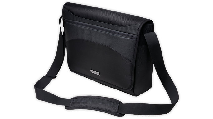 Kensington Triple Trek Ultrabook Optimized Messenger Bag  (K62590)