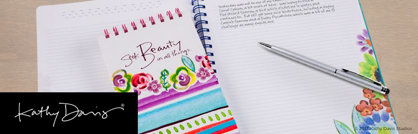 AT-A-GLANCE Kathy Davis Notebooks