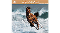 The Spirit of Horses Wall Calendar (Item # LHCW14)
