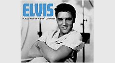 Elvis Presley Calendar (Item # LMB131)