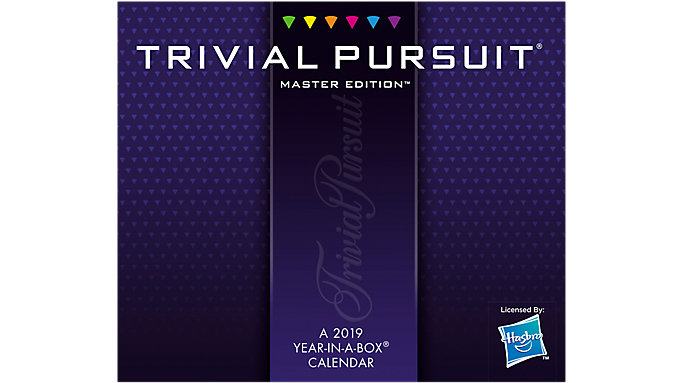 Mead Trivial Pursuit Year-In-A-Box Calendar  (LMB151)