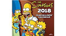 The Simpsons Year-In-A-Box Calendar (Item # LMB245)