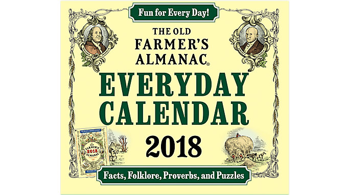 Mead Old Farmers Almanac Year-In-A-Box Calendar  (LMB258)