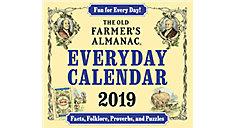 Old Farmers Almanac Year-In-A-Box Calendar (Item # LMB258)
