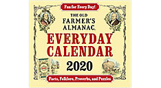 The Old Farmers Almanac Calendar (Item # LMB258)