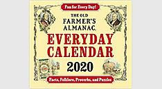 The Old Farmers Almanac Calendar (Item # LMB258)