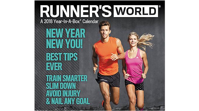 Mead Runners World Year-In-A-Box Calendar  (LMB259)