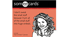 Someecards Year-In-A-Box Calendar (Item # LMB260)
