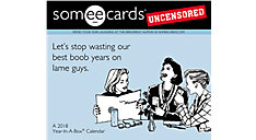 Someecards Unscensored Year-In-A-Box Calendar (Item # LMB261)