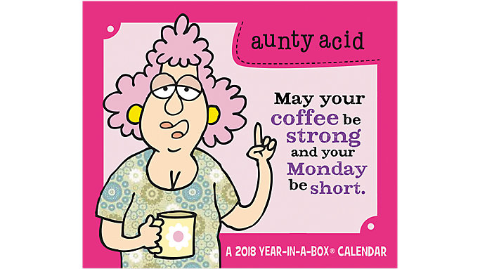 Mead Aunty Acid Year-In-A-Box Calendar  (LMB262)