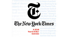 New York Times Year-In-A-Box Calendar (Item # LMB266)