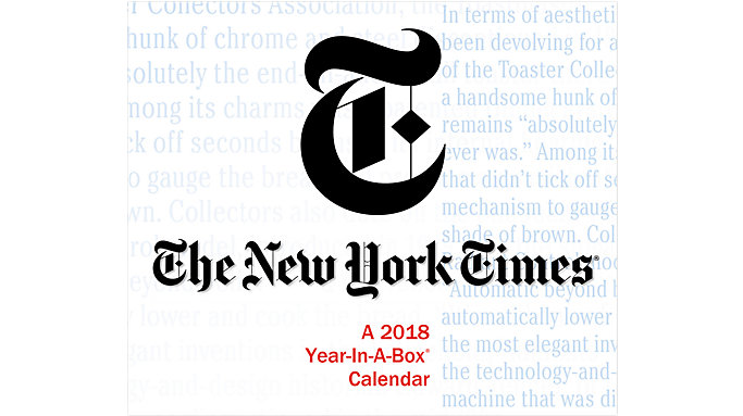 Mead New York Times Year-In-A-Box Calendar  (LMB266)
