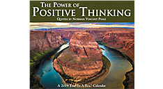 Power of Positive Thinking Year-In-A-Box Calendar (Item # LMB267)