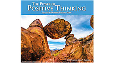 The Power of Positive Thinking Calendar (Item # LMB267)