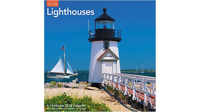 Mead Lighthouses Wall Calendar  (LME161)