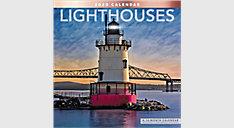 Lighthouses 12x12 Monthly Wall Calendar (Item # LME161)