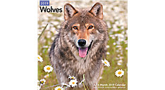 Wolves Wall Calendar (Item # LME168)