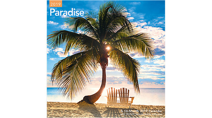 Mead Paradise Wall Calendar  (LME178)