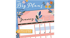 Big Plans 12x12 Monthly Wall Calendar (Item # LME206)