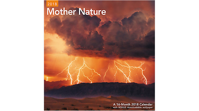 Mead Mother Nature Wall Calendar  (LME209)