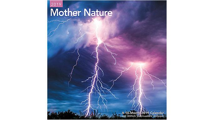 Mead Mother Nature Wall Calendar  (LME209)