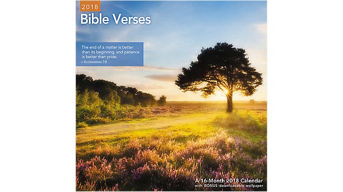 Mead Bible Verses Wall Calendar  (LME211)