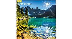 Bible Verses Wall Calendar (Item # LME211)