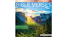 Bible Verses 12x12 Monthly Wall Calendar (Item # LME211)