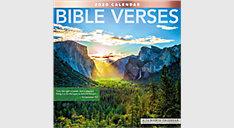 Bible Verses 12x12 Monthly Wall Calendar (Item # LME211)