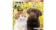 Paw Pals 12x12 Monthly Wall Calendar (Item # LME226)