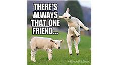 Animal Memes Wall Calendar (Item # LME310)