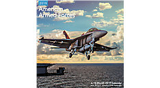 American Armed Forces Wall Calendar (Item # LME312)
