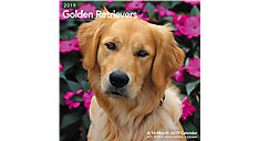 Golden Retrievers Wall Calendar (Item # LME322)