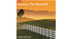 America the Beautiful Wall Calendar (Item # LME327)