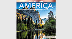 America Untouched 12x12 Monthly Wall Calendar (Item # LME328)