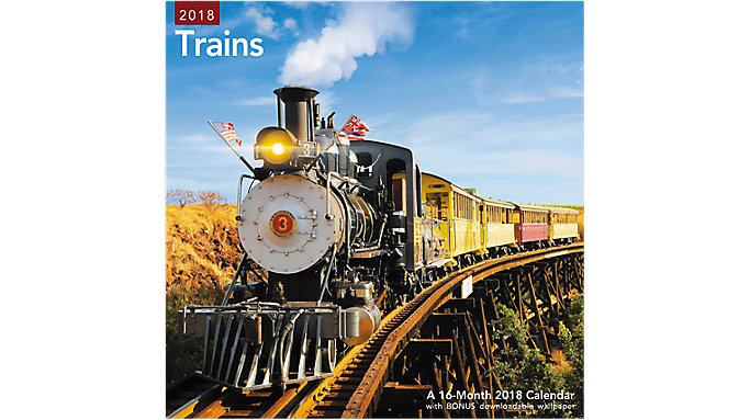Mead Trains Wall Calendar  (LME331)
