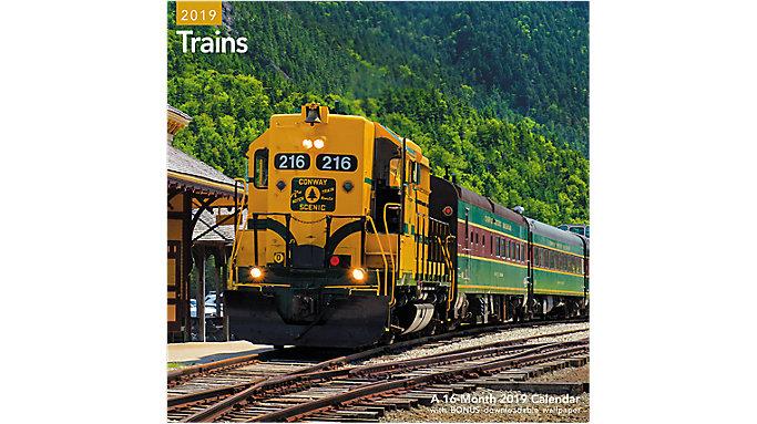 Mead Trains Wall Calendar  (LME331)