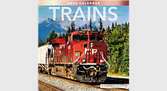 Trains 12x12 Monthly Wall Calendar (Item # LME331)
