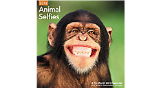 Animal Selfies Wall Calendar (Item # LME336)