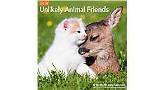 Unikely Animal Friends Wall Calendar (Item # LME337)