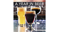 A Year in Beer 12x12 Monthly Wall Calendar (Item # LME338)