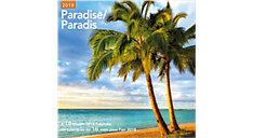 Paradise Bilingual Wall Calendar (Item # LMF178)